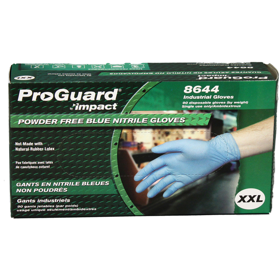 ProGuard XXL Disposable Nitrile Gloves PGD 8644XXL