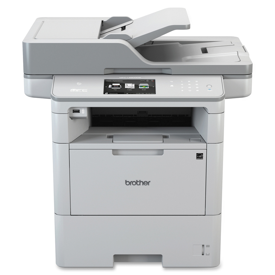 Brother MFC-L6900DW Laser Multifunction Printer - Monochrome
