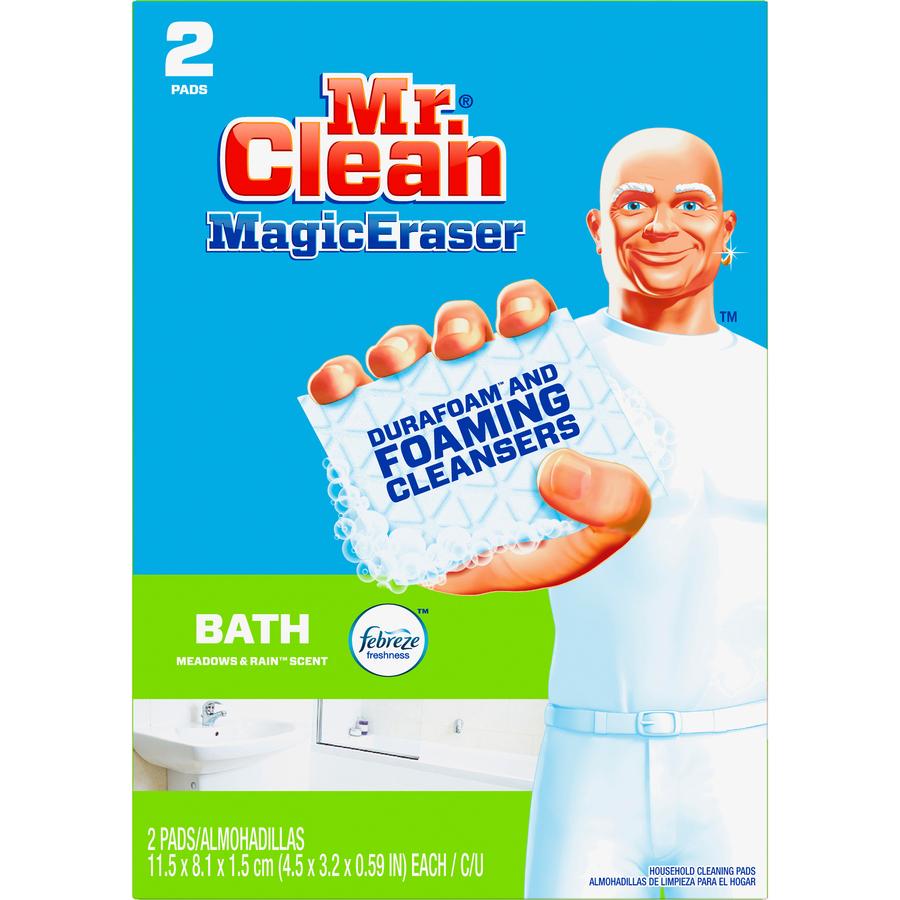 mr clean procter gamble magic eraser bath scrubber pgc 84552ct. Black Bedroom Furniture Sets. Home Design Ideas