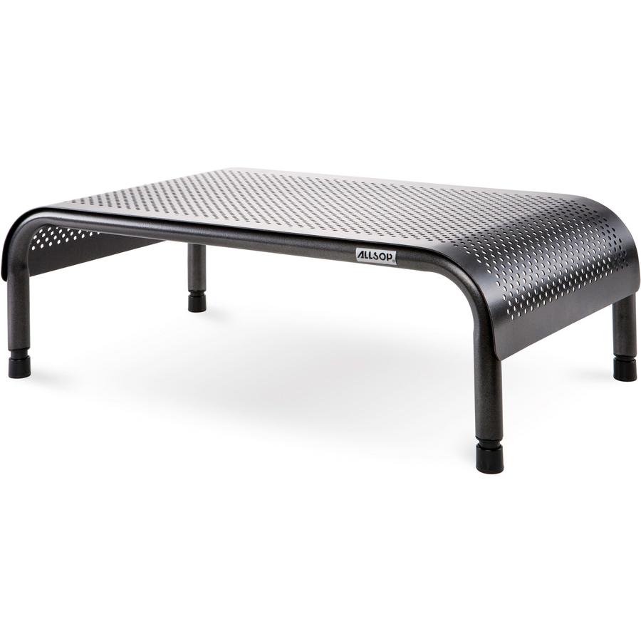 Allsop Metal Art Ergo3 Adjustable Monitor Stand - 35 lb Load