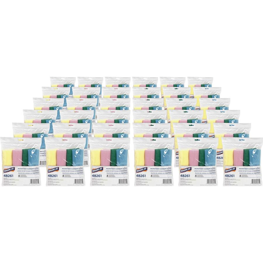 Microfiber Cloth Guide: GJO48261CT Genuine Joe Color-coded Microfiber Cleaning