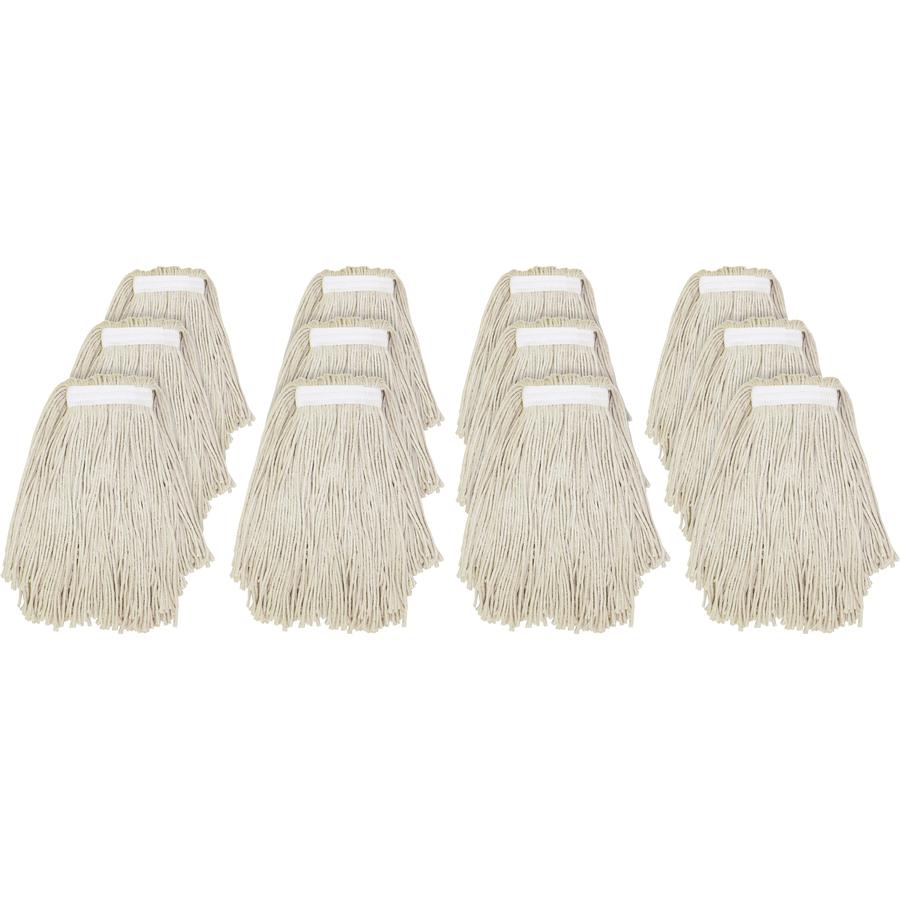 Genuine Joe Clamp-Style Cotton Mophead GJON20COTCT