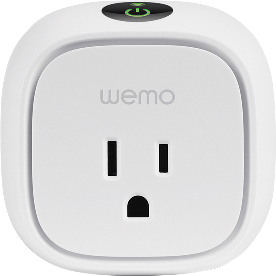 Linksys Wemo Insight Switch - Remote Control Switch - Fan Control, Heater  Control - White
