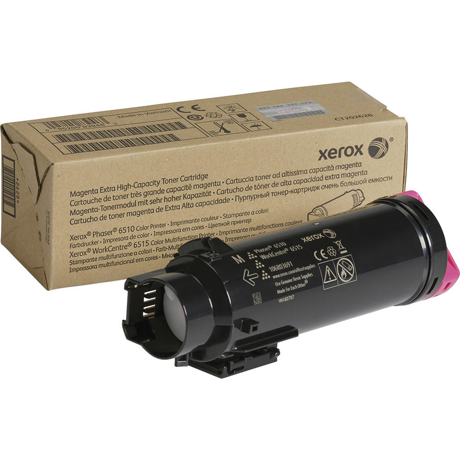 Xerox Original Toner Cartridge - Magenta - Laser - Extra High Yield - 4500  Pages - 1 Each
