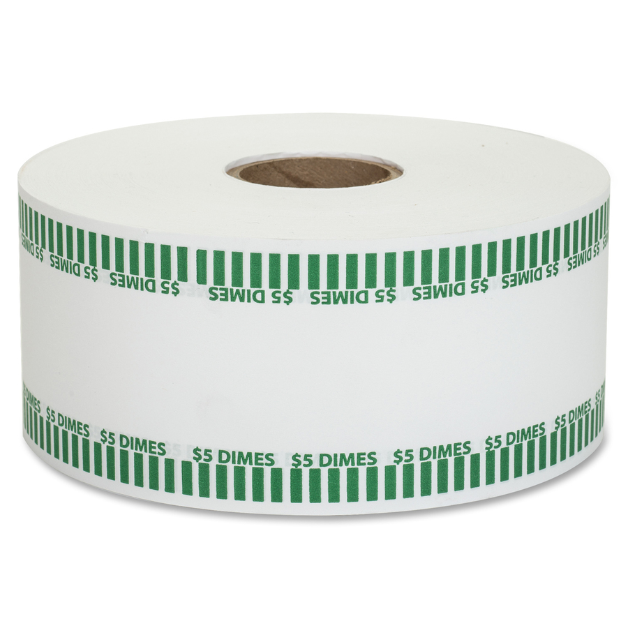 PAP-R Color-coded Coin Machine Wrappers - 1000 ft Length - 1900 Wrap