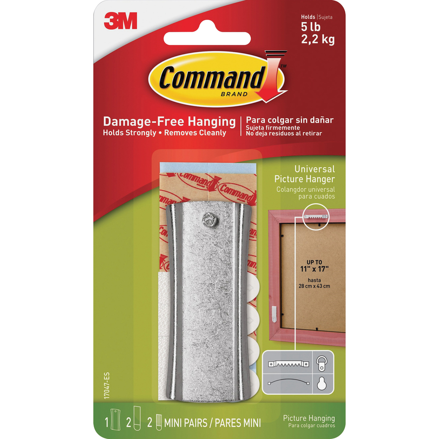 Command Sticky Nail Sawtooth Hanger Yuletide Office Solutions