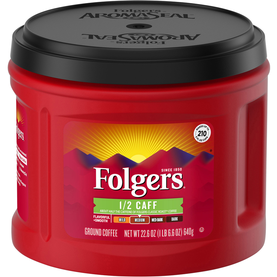 Caffeine Content In A Cup Of Folgers Coffee