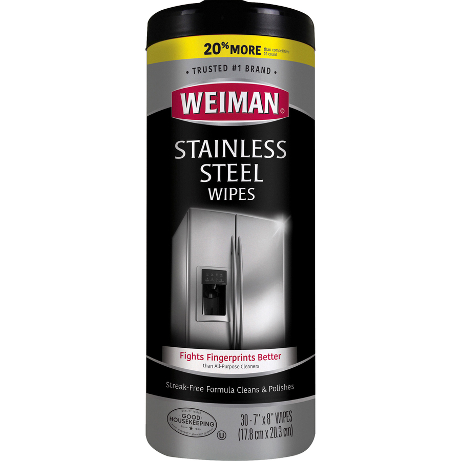 Wholesale Weiman Products Stainless Steel Wipes Wmn92 In Bulk