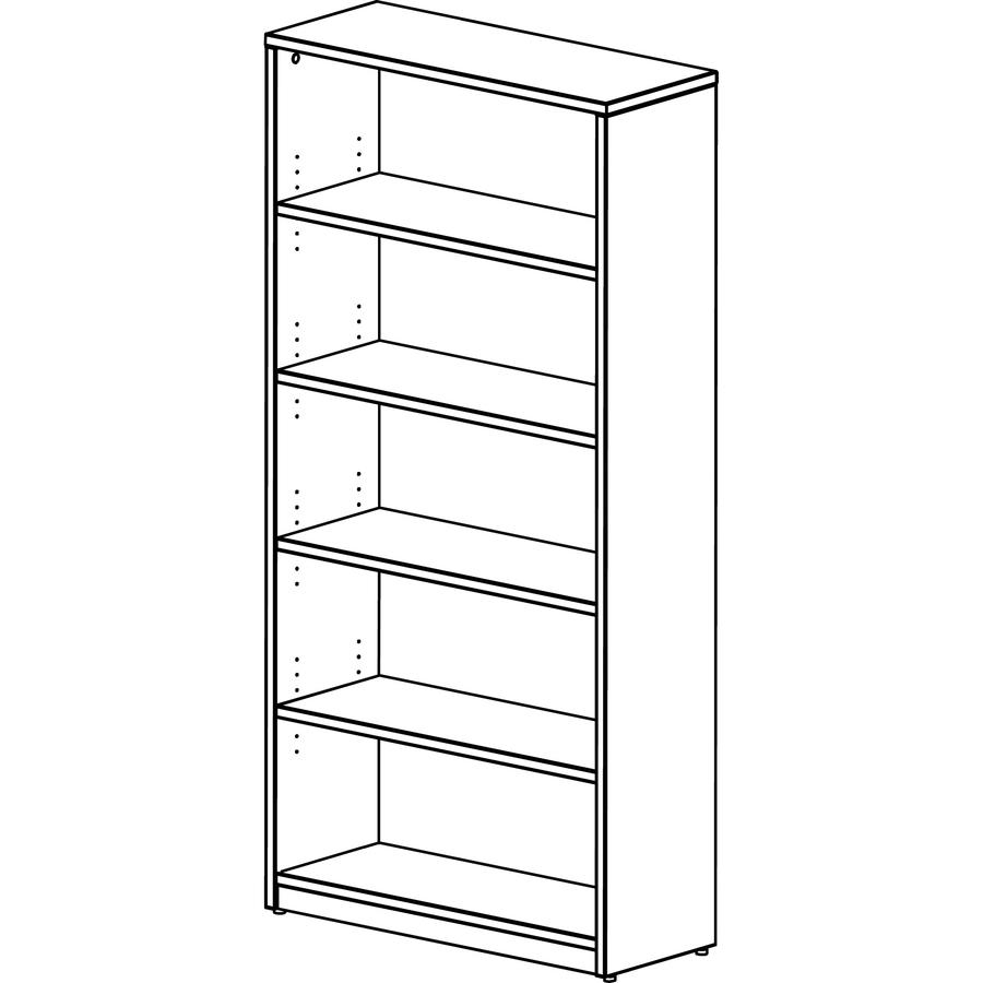 Lacasse Bookshelf 36 X 14 73 Edge