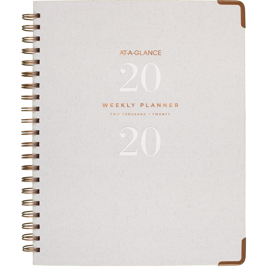 at a glance signature collection hardcover weekly monthly planner