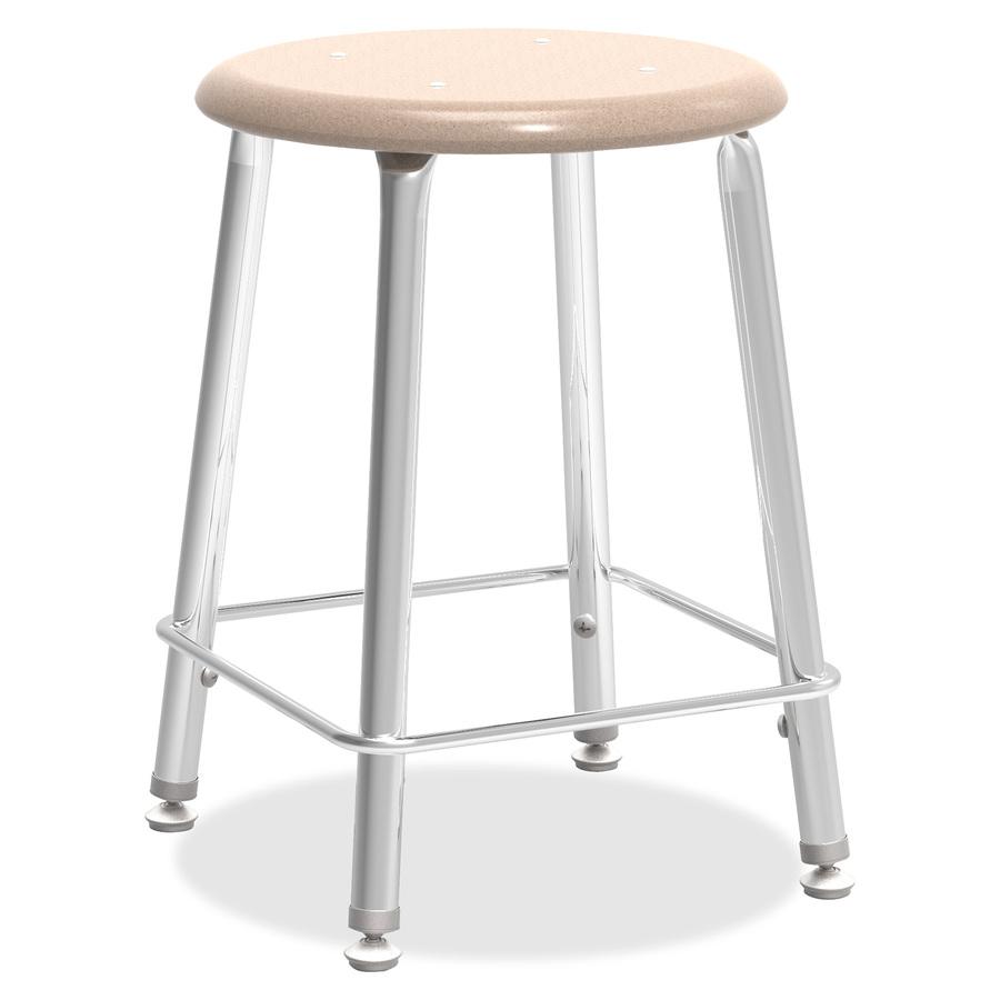 Super Virco 4 Legged Stool 18 Seat Height Plastic Sandstone Ibusinesslaw Wood Chair Design Ideas Ibusinesslaworg