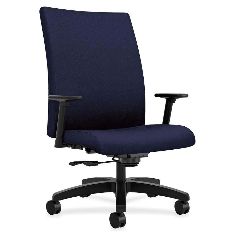 Hon Ignition Big And Tall Chair 5 Star Base Navy 24
