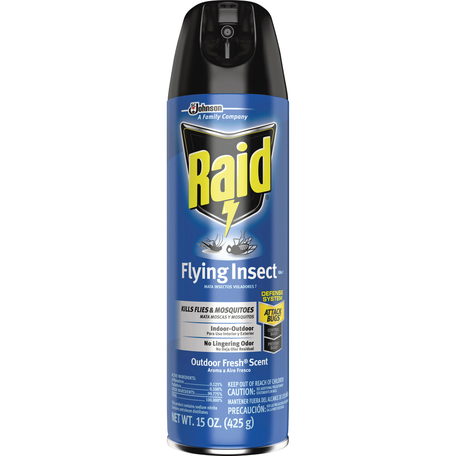 Sjn617717 Raid Flying Insect Killer Office Supply Hut