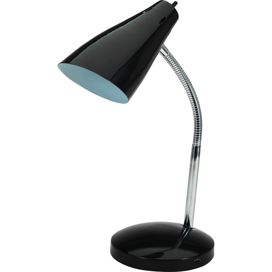 Llr99953 Lorell Usb 10 Watt Led All Metal Desk Lamp Zuma