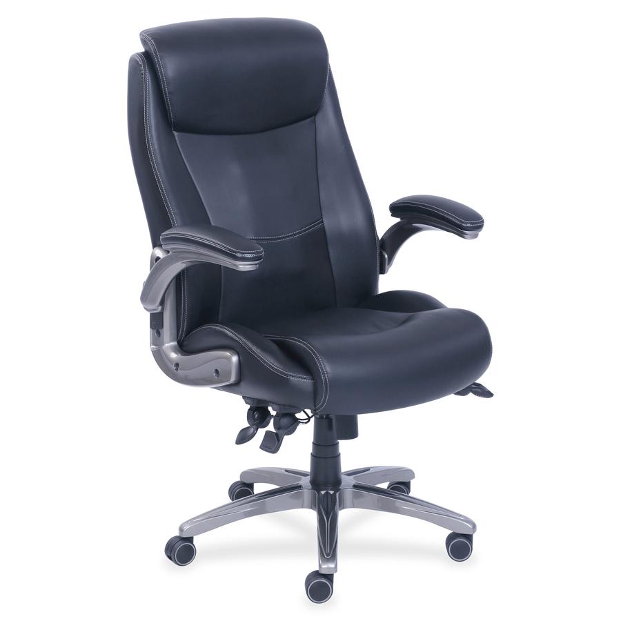 Enjoyable Lorell Traditional Executive Bonded Leather Chair Bonded Evergreenethics Interior Chair Design Evergreenethicsorg
