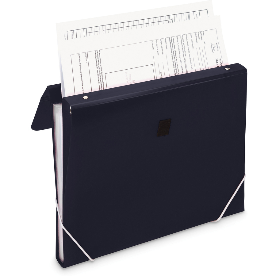 Samsill Duo 2 In 1 Organizer Ring Binder Capacity Letter 8 X 11 Sheet Size 225 3 Round Fastener S 7