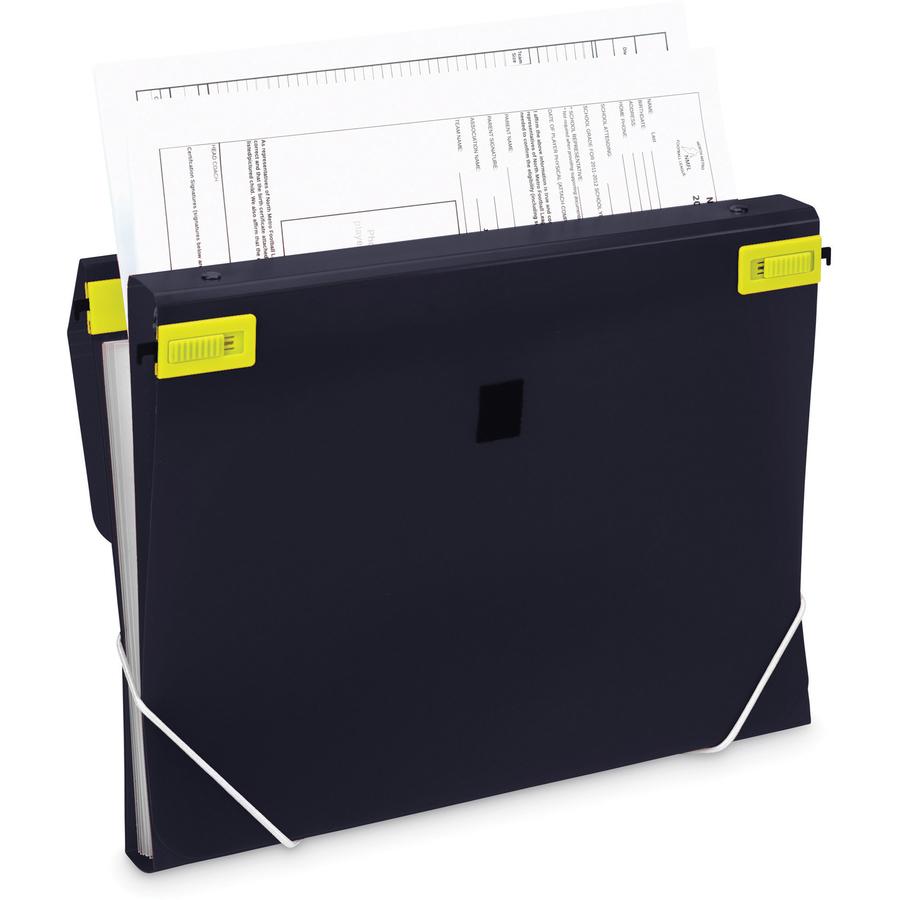 Samsill Trio 3 In 1 Binder Organizer Capacity Letter 8 2 X 11 Sheet Size 225 Round Ring Fastener S Polypropylene