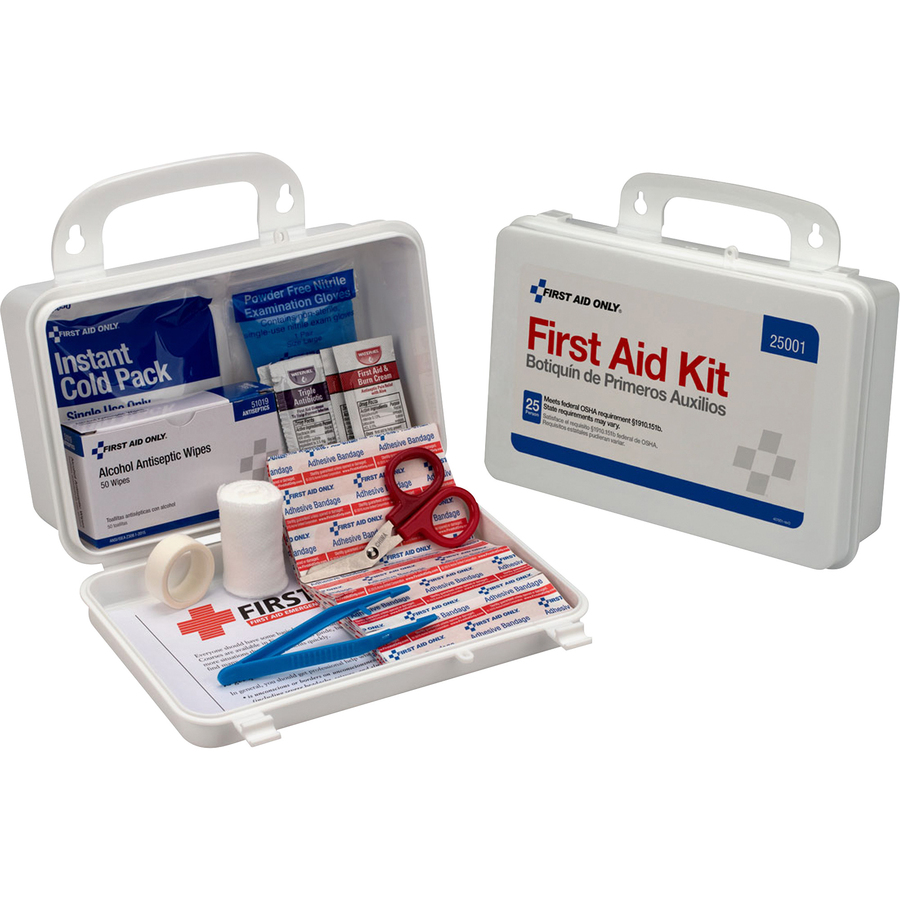 PhysiciansCare 25 Person/113-pc First Aid Kit - M L & H