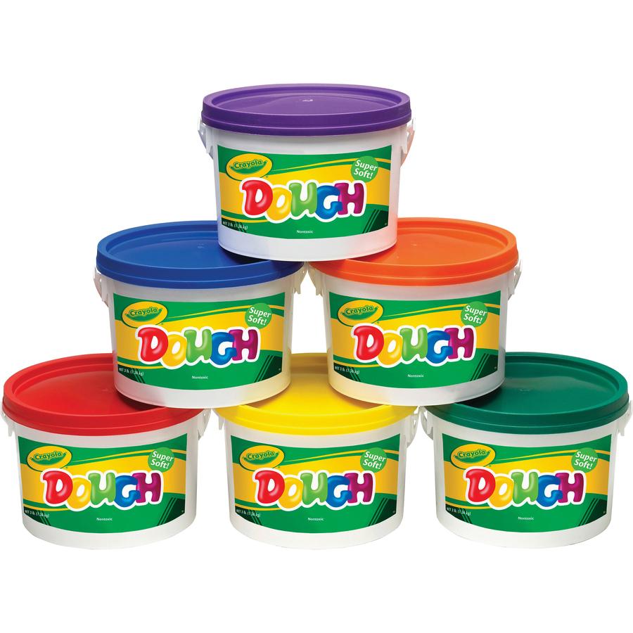 Wholesale School Supplies Crayola Super Soft Dough Cyo570016