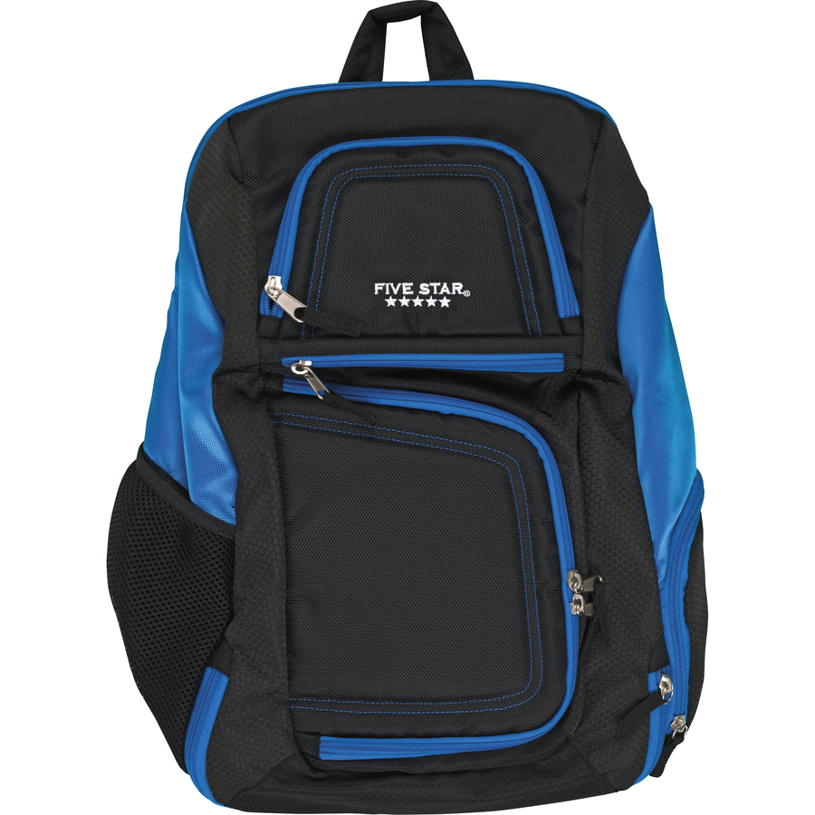 Mead Carrying Case Backpack For 17 Quot Notebook Blue Black