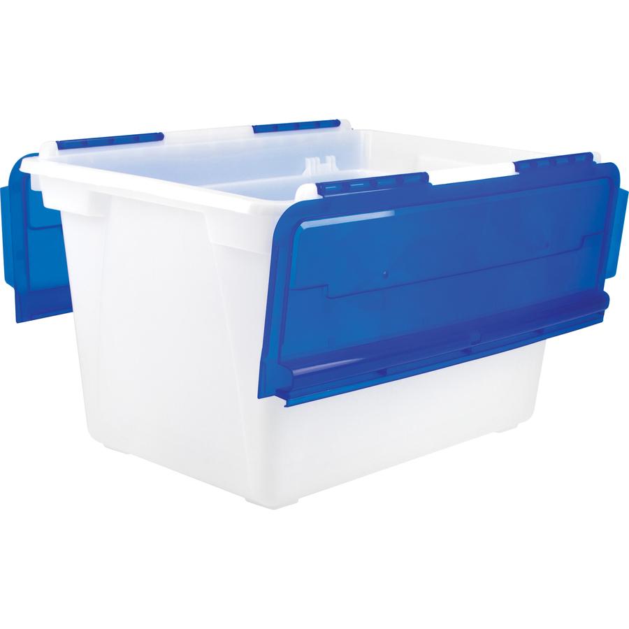 STX00901U01C - Storex 48-quart Storage Tub - Office Supply Hut