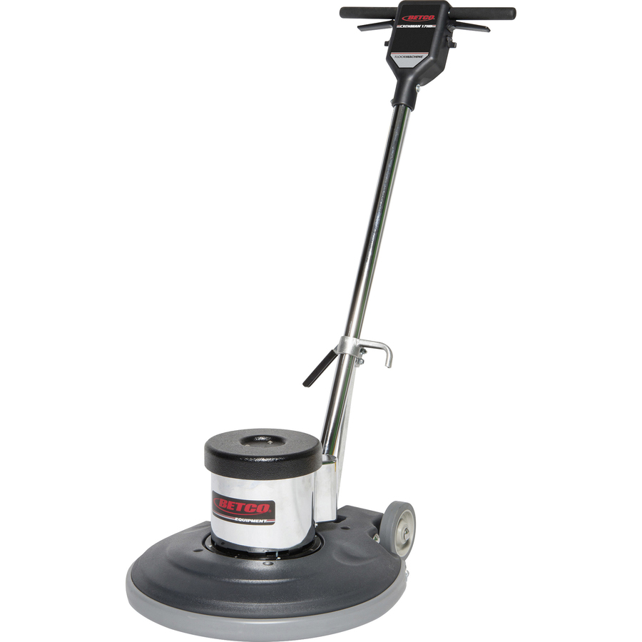 Betco 17 Heavy Duty Floor Machine - 1118 55 W Motor - 17 Cleaning Width -  Carpet - 50 ft Cable Length - AC Supply - 120 V AC - 59 dB(A) Noise Level -