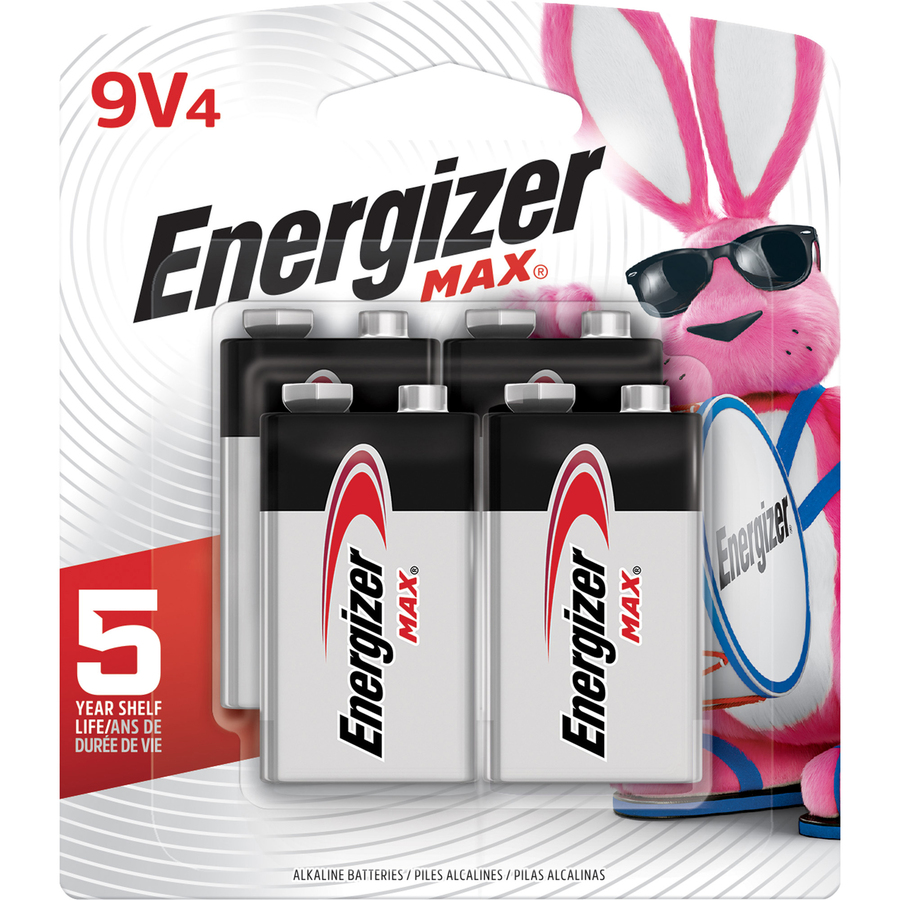 Energizer Max Alkaline 9-Volt Battery - White Printing Company