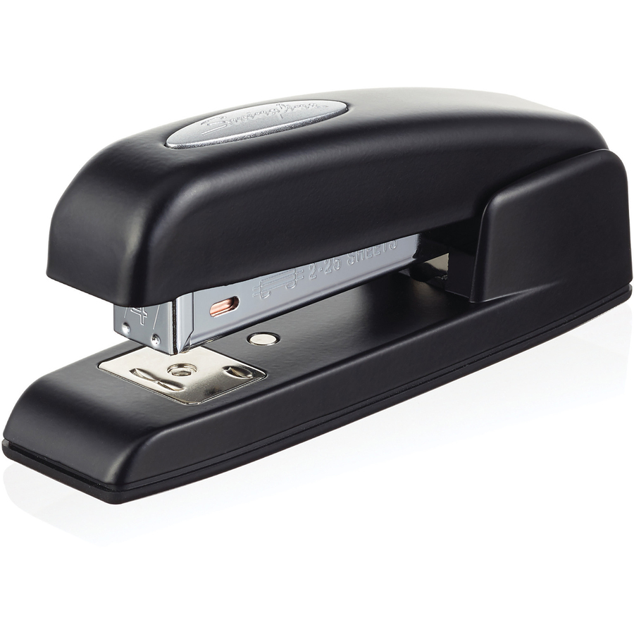 Swingline 747 Half Strip Business Stapler - 25 Sheets Capacity - 105 Staple  Capacity - Half Strip - Black