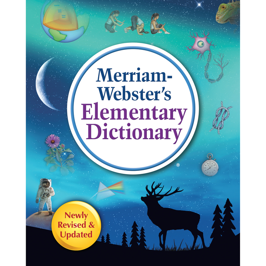 Merriam-Webster Elementary Dictionary Dictionary Printed