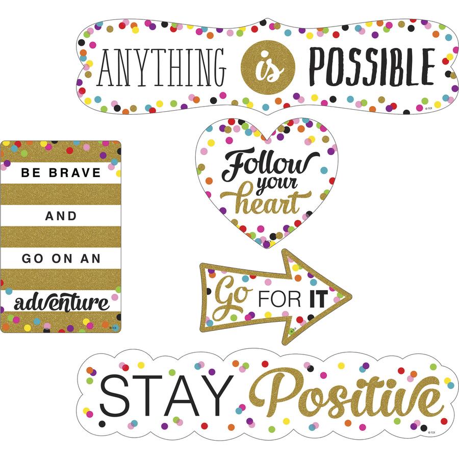 Teacher Created Resources Confetti Positive Accents Tcr77326 Original