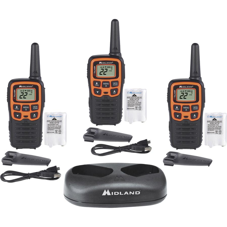 Midland X-TALKER T51X3VP3 Walkie Talkie Three Pack - Your Office