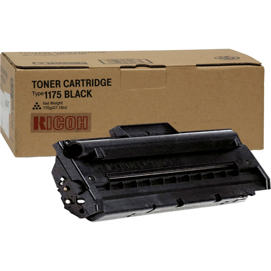 ricoh 412672 ricoh type 1175 black toner cartridge ric412672 ric 412672 office supply hut. Black Bedroom Furniture Sets. Home Design Ideas