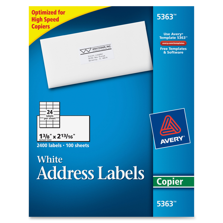 Discount AVE5363 Avery® 5363 Avery® Address Labels For