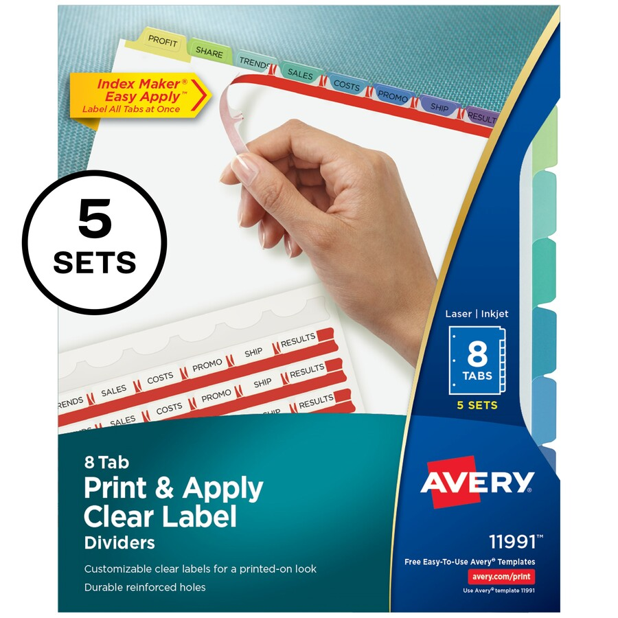 original - Avery Colored Labels