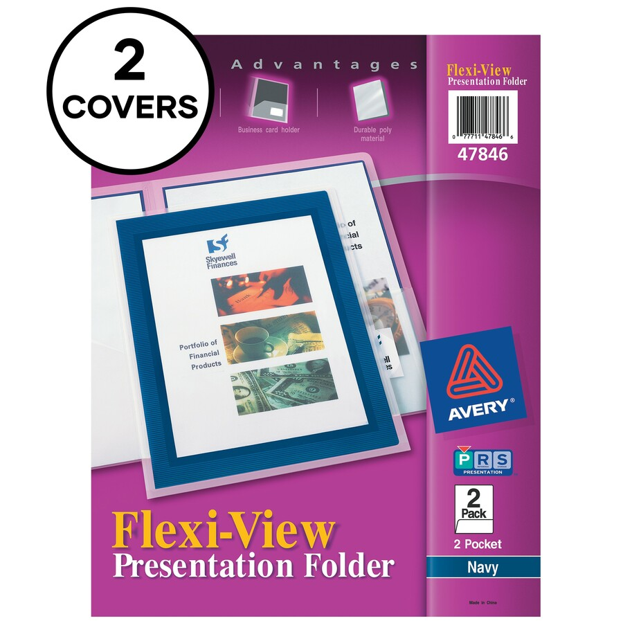 Savings on avery flexi view two pocket folder wholesale avery flexi view two pocket folders letter 8 12 x 11 sheet size 2 pockets plastic translucent 2 pack colourmoves