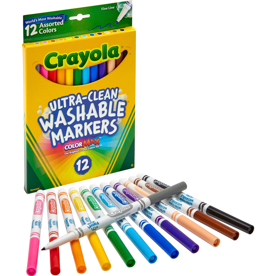 Crayola Thinline Washable Markers - Urban Office Products
