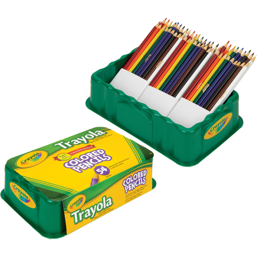 Crayola Trayola Colored Pencil Set