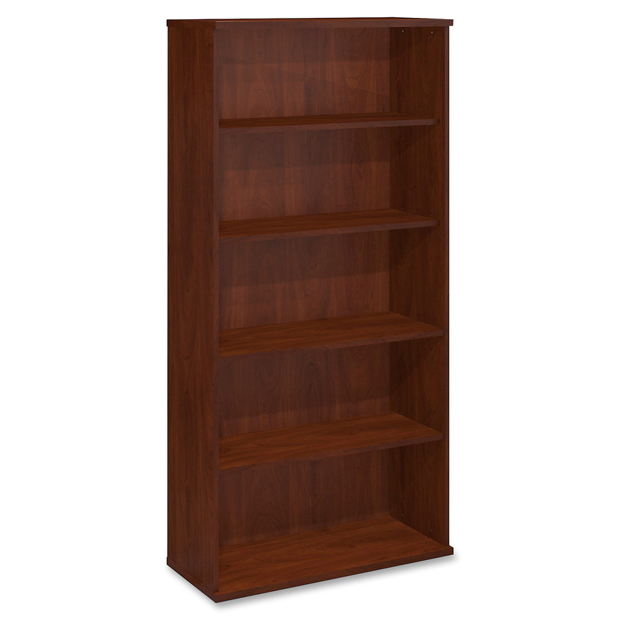 Bush Business Furniture Series C 36w 5 Shelf Bookcase 35 6 X 15 4