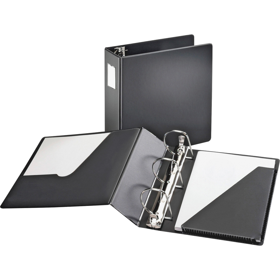 cardinal 11822 cardinal slant d ring binder with label holder