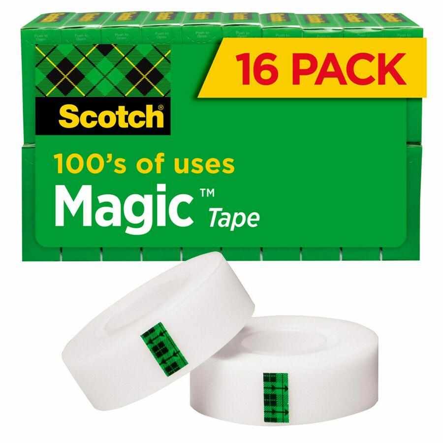 "24//PK Tape Refill Vale Pack 3//4/""x1000/"" Clear MMM600K24"