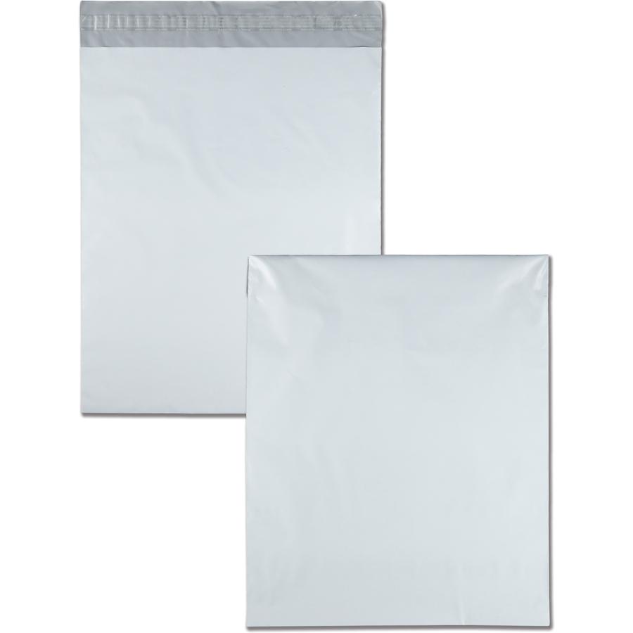 quality park white poly mailing envelopes servmart