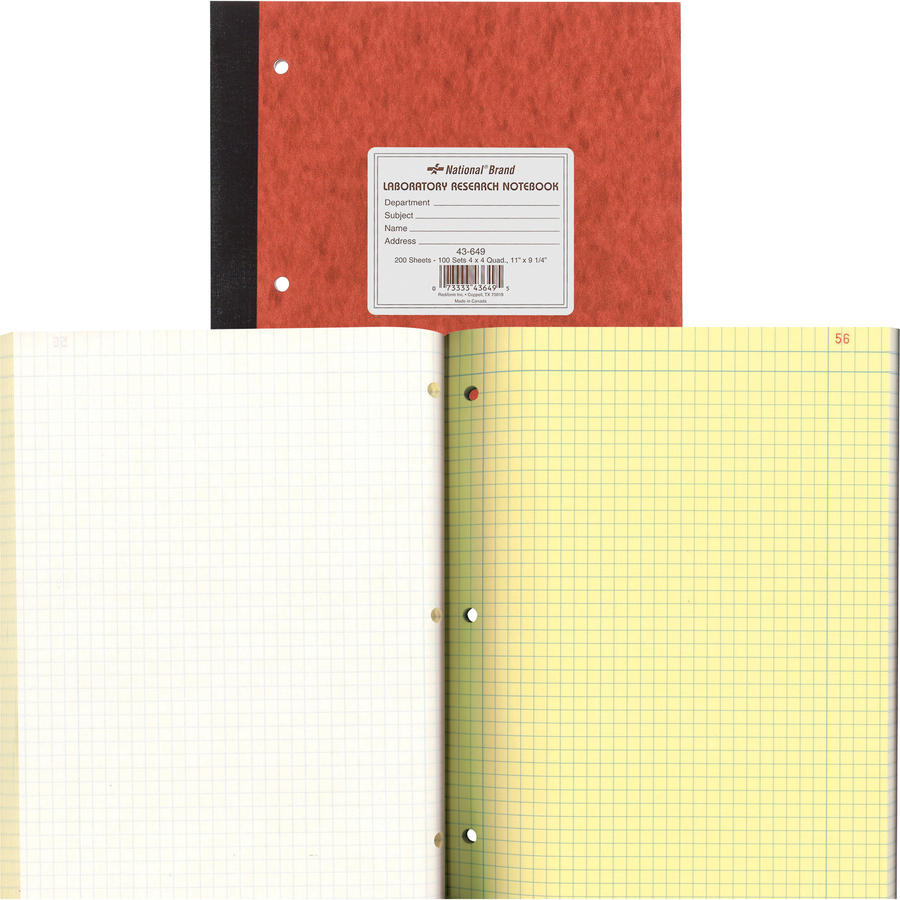 Assorted Color Covers 11 x 9 200 Perforated Sheets Roaring Spring Four Subject College Ruled Spiral Notebook with 4 Double Pocket Dividers