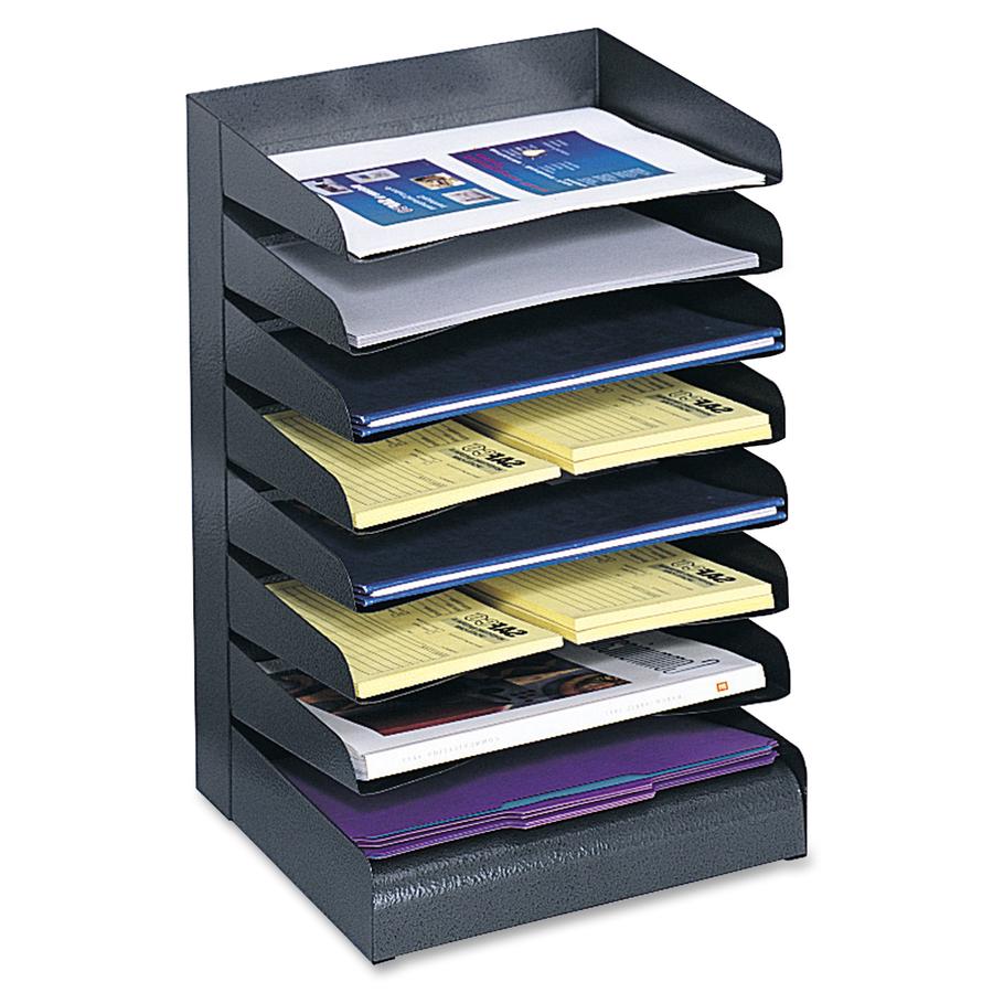 Tiers Letter Size Desk Tray Sorter