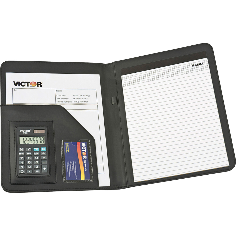 Victor Professional Pad Holders with Calculators - Letter - 8 1/2