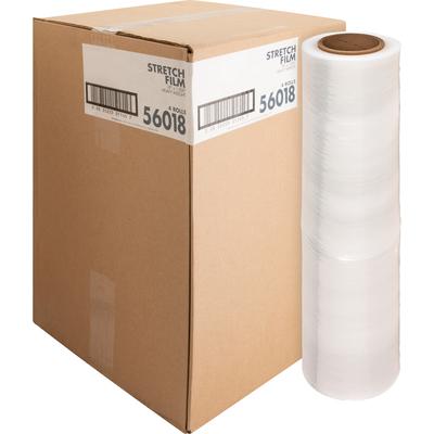 """100 GAUGE 4 Stretch Film Rolls Wrap 18/"""" X 1000/' CLEAR"""