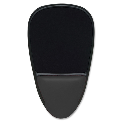 Black Safco Products 90108 SoftSpot Proline Mouse Pad Wrist Support