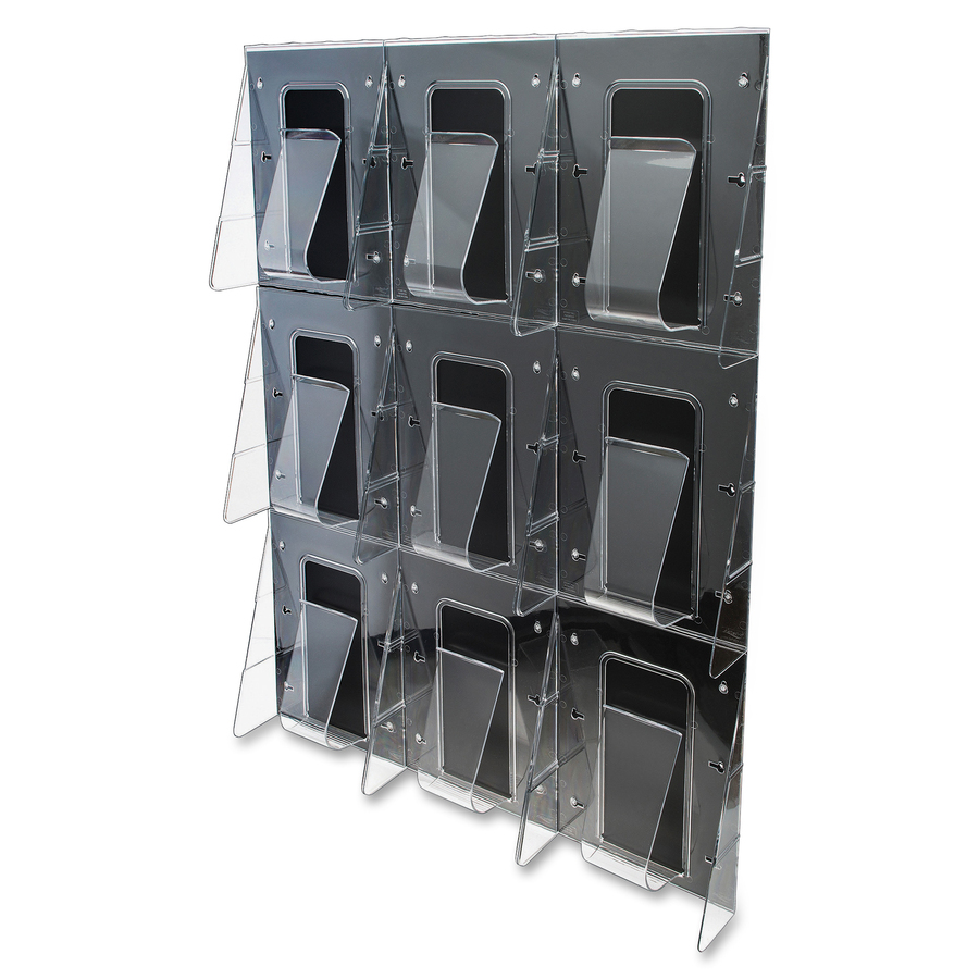 wire acrylic mounted rack display of mount magazine pictures stands awesome wall holders decoration brochure
