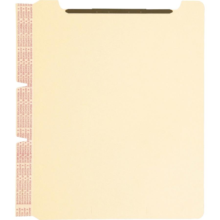 Discount Smd68025 Smead 68025 Smead Self Adhesive Folder: Smead Self-Adhesive Folder Dividers With Twin Prong