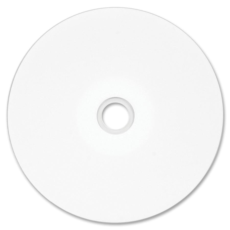 image regarding Printable Dvd Rs called Verbatim DVD-R 4.7GB 16X DataLifePlus White Inkjet Printable, Hub Printable - 100pk Tape Wrap - Inkjet Printable