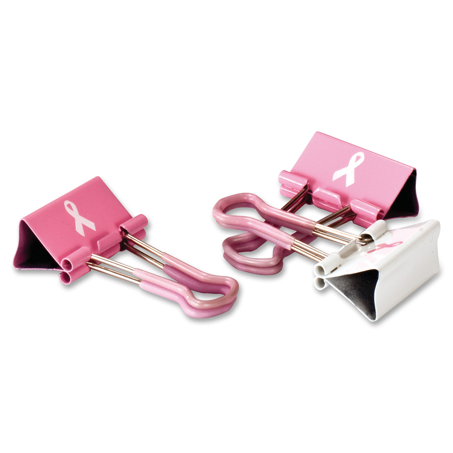 Pink Oic Breast Cancer Awareness Paper Clip 80 // Pack OIC08908 Jumbo